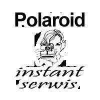 Polaroid Instant Serwis LOGO label