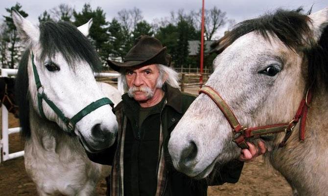 Bohdan Smoleń i konie