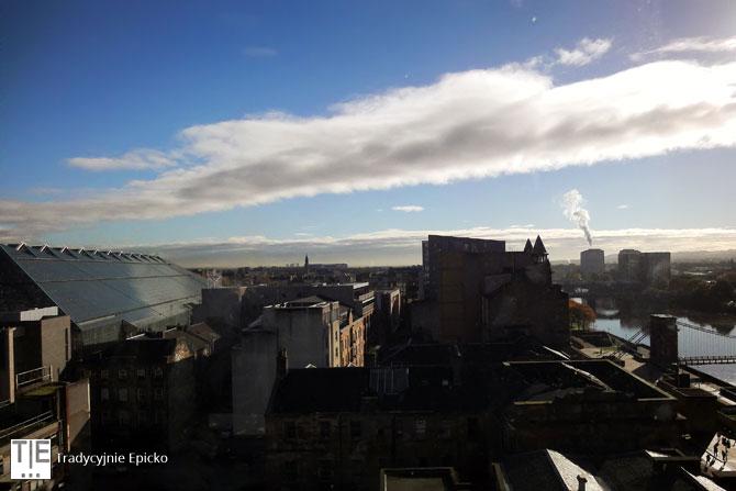 Glasgow z Euro Hostel