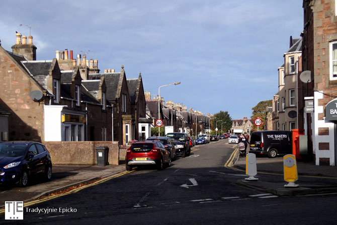 Inverness uliczki