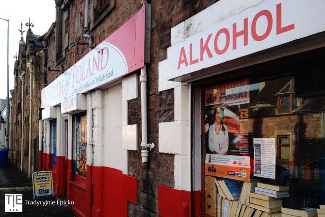 Polski sklep w Inverness