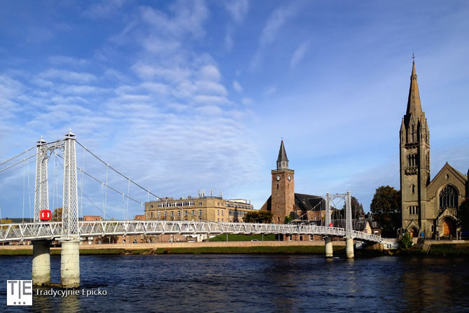 Inverness rzeka Ness